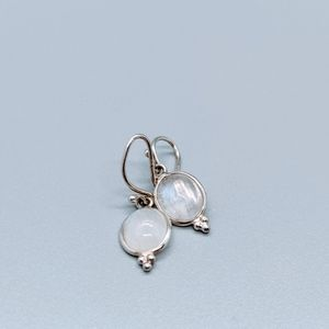 Authentic Moonstone Earrings